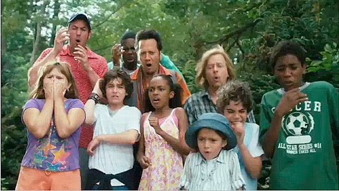 Sandler's Grown Ups Critics are just jealous children ...